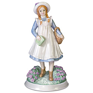 """Anne Of Green Gables"" Heirloom-Quality Porcelain Figurine"