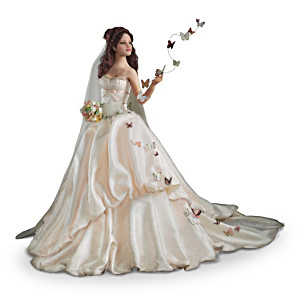"Anna Hardman ""On Wings Of Love"" Bride Doll"