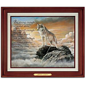 "Kevin Daniel ""Strength Of Spirit"" Illuminated Canvas Print"