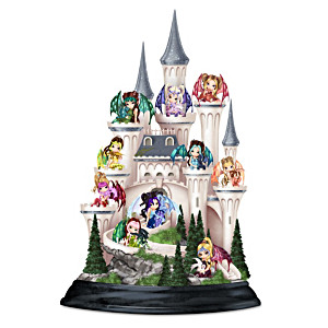 Jasmine Becket-Griffith Castle Of Dragon's Keep Figurine Set