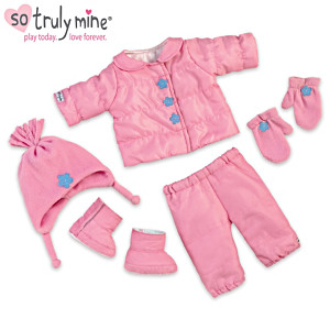 Snow Adorable Accessory Set For The So Truly Mine Baby Doll