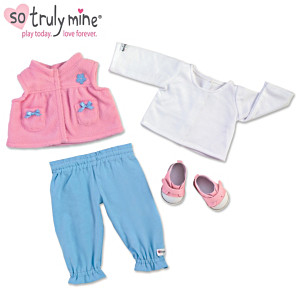 Play Date Accessory Set For The So Truly Mine Baby Doll