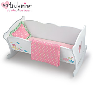 Rocking Cradle Accessory Set For The So Truly Mine Baby Doll