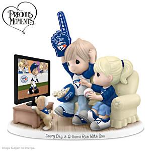 Precious Moments Toronto Blue Jays Fan Porcelain Figurine