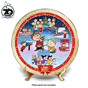 """""""A Charlie Brown Christmas"""" 50th Anniversary Collector Plate"""