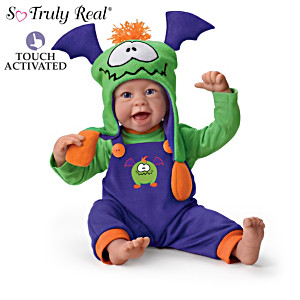 "Linda Murray ""Little Monster"" Interactive Baby Doll Giggles"
