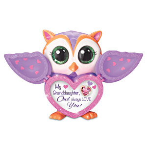 Granddaughter, Owl Always Love You Jeweled Musical Owl
