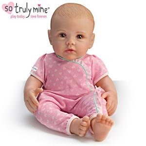So Truly Mine Play Doll: Blonde Hair, Brown Eyes, Light Skin