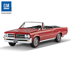 1:18-Scale 1964 Pontiac GTO 50th Anniversary Sculpture