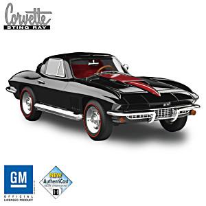 """1967 Chevrolet Corvette Sting Ray L88"" 1:18-Scale Sculpture"