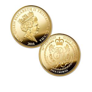 Queen Elizabeth II Five Crowns Coin Honours Her 90th Birthday