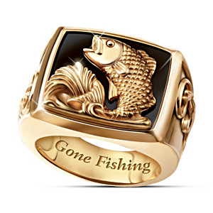 The Bass Sportsman Men's Ring