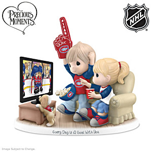 Precious Moments Canadiens® Fan Porcelain Figurine