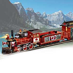 """O Canada! Express"" Illuminated Electric Train"
