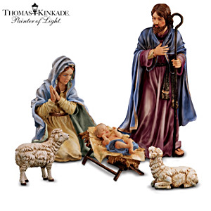 Thomas Kinkade Indoor/Outdoor Nativity Collection