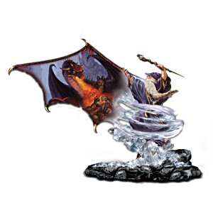 Wizard Figurine Collection With Matthew Stawicki Dragon Art
