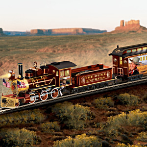 """The Duke Express"" Illuminated John Wayne Train"