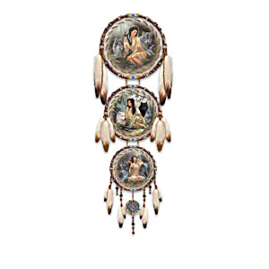 """Kindred Spirits"" Genuine Leather Dreamcatcher Collection"