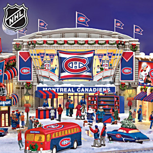 NHL® Montreal Canadiens® Christmas Village