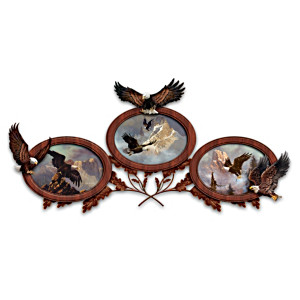 """Legends Of The Sky"" Eagle Wall Décor"