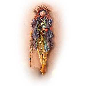 Native American-Inspired Decorative Doll Collection