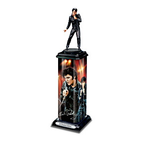 Elvis Presley Commemorative Illuminated Sculptures