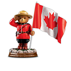 Royal Canadian Mounted Police Faithful Fuzzies Figurines