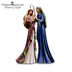 "Thomas Kinkade ""Christmas Story"" Nativity Figurines"