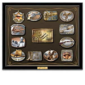 John Wayne Belt Buckle Wall Art Collection