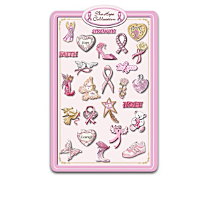 Breast Cancer Awareness Hope Magnets With Display Board