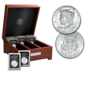 Complete 20th Century US Silver Half Dollar Coin Collection