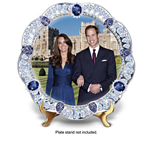 Prince William And Kate Middleton Commemorative Plates