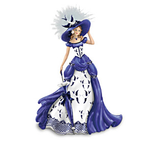 The Blue Willow China Pattern-Inspired Figurine Collection