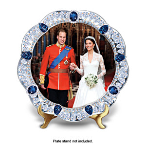 Prince William And Princess Catherine Commemorative Plates