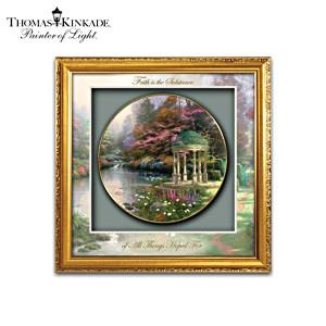Thomas Kinkade Garden Art Shadowbox Collector Plates