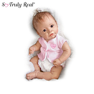 Lifelike Baby Girl Doll Collection