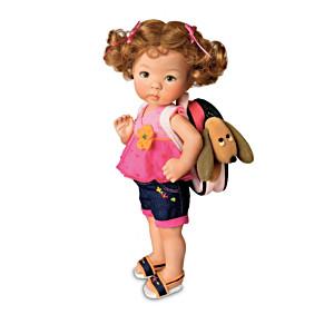 "Dianna Effner ""Taking A Friend To Grandma's"" Child Dolls"