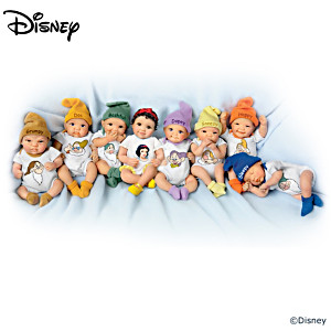 Snow White 75th Anniversary Miniature Baby Doll Collection