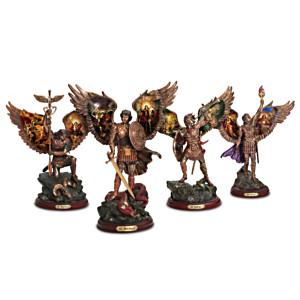 """Archangels Of Light"" Cold-Cast Bronze Sculpture Collection"