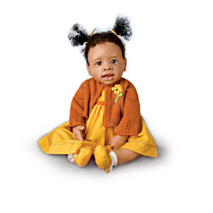 Thankful Blessings African-American Musical Baby Dolls