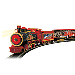 HO-Scale Fire Engines And Heroes Train Collection