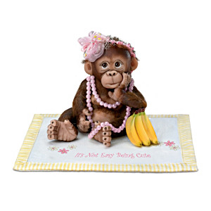 "Cindy Sales ""Couldn't Be Cuter"" Monkey Babies With Blankets"