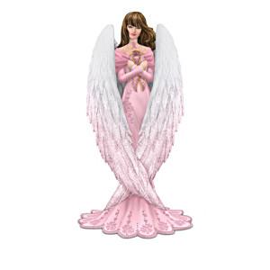 Brooke Gillette Breast Cancer Support Angel Figurines