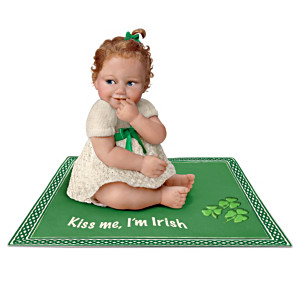 Wee Bit O' Irish Charm Doll Collection With Musical Blankets