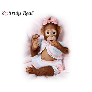 "Cindy Sales ""As Cute As Can Be"" Monkey Doll Collection"