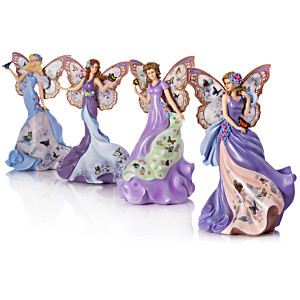 Lena Liu Alzheimer's Support Angel Figurine Collection