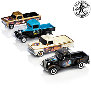 Elvis Tribute 1:34-Scale Sculpted Ford Truck Collection