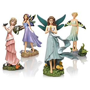 "Bente Schlick ""Secret Escape"" Fairy Figurine Collection"