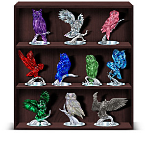 """Blake Jensen """"Reflections Of The Owl"""" Figurine Collection"""