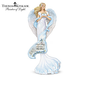 "Thomas Kinkade ""Wings Of Remembrance"" Angel Figurines"